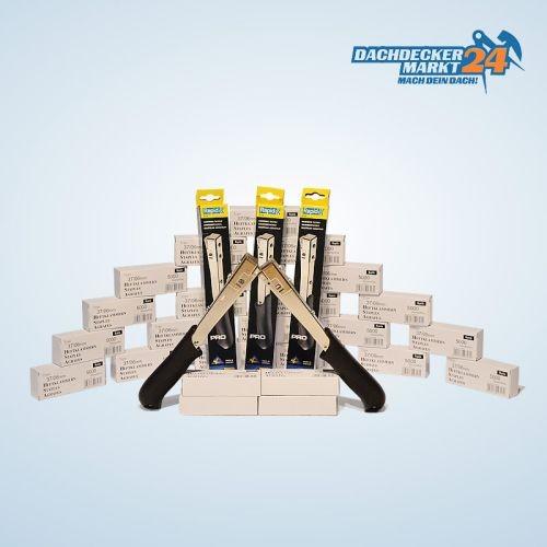 5 Hammertacker Rapid 19 mit 125000 Rapid Klammern 37/6